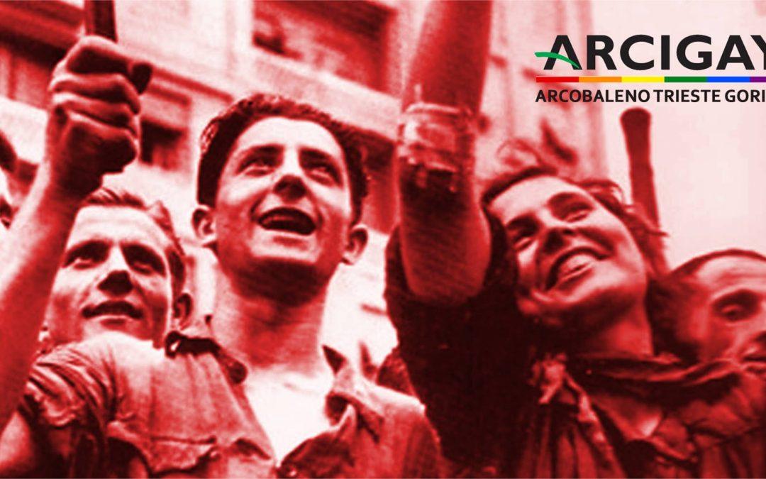 73° Anniversario della Liberazione d'Italia dal nazifascismo