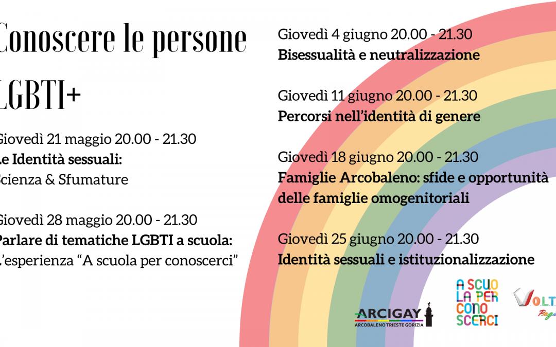 Conoscere le persone LGBTI+